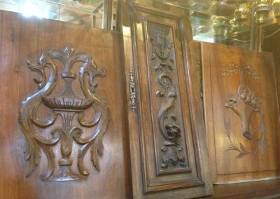 French Wood Panels.
