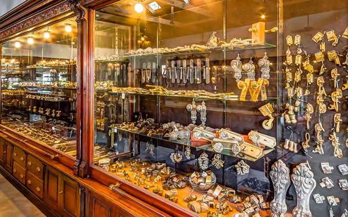 Located in Houston, Texas, Settlers Hardware is a one-of-a-kind experience
